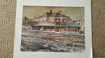 Keith Dygert Print - Kankakee Train Station