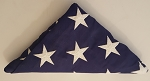 US Flag 5X8 heavy cotton / polyester flag with, woven stars